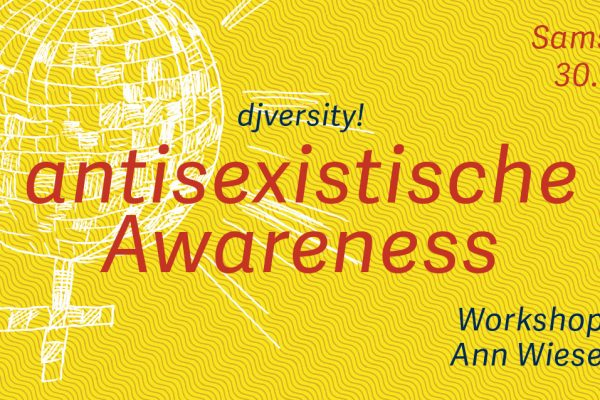 Workshop »antisexistische Awareness« / 30.11.2019 @ Charles Bronson