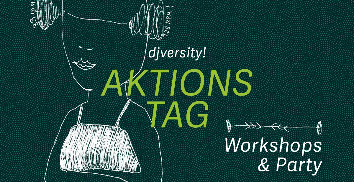 djversity — Aktionstag: Workshops & Party / 03.11.2018 @ Charles Bronson