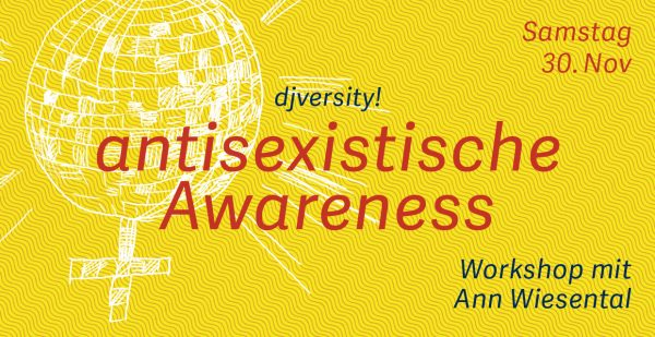 Workshop »antisexistische Awareness« / 30.11.2019 @ Charles Bronson